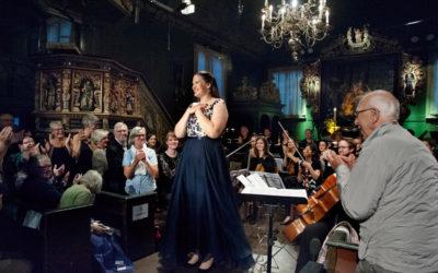 Lise Davidsen, sopran  Det Norske Kammerorkester  Foto: Liv Øvland